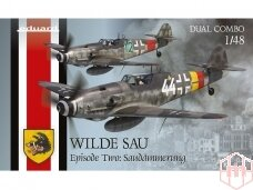 Eduard - WILDE SAU Episode Two: Saudämmerung Dual Combo (Messerschmitt Bf 109-10 & Bf 109-14 ), 1/48, 11148