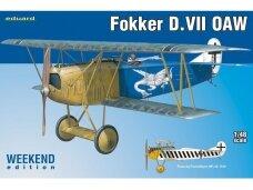 Eduard - Fokker D.VII OAW, Weekend Edition, Mastelis: 1/48, 84155