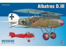Eduard - Albatros D.III , Weekend Edition, Mastelis: 1/48, 8438