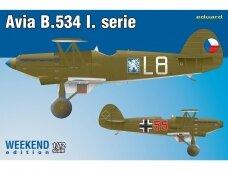 Eduard - Avia B-534 I. serie, Weekend edition, 1/72, 7446