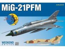 Eduard - MiG-21PFM, Weekend edition, Mastelis: 1/72, 7454