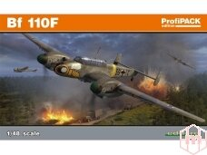 Eduard - Bf 110F, Profipack, Mastelis: 1/48, 8207