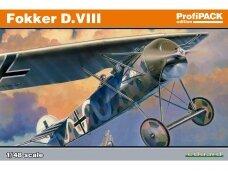 Eduard - Fokker D.VIII, Profipack, Mastelis: 1/48, 8085