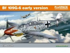 Eduard - Bf 109G-6 early versions, ProfiPack Edition, 1/48, 82113