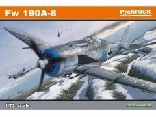 Eduard - Fw 190A-8, Profipack, Mastelis: 1/72, 70111