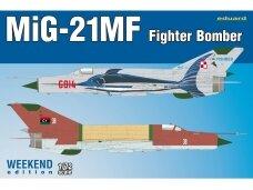 Eduard - MiG-21MF Fighter-Bomber, Weeken Edition, Mastelis: 1/72, 7451