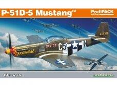 Eduard - P-51D-5 Mustang, Profipack, Mastelis: 1/48, 82101