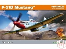 Eduard - P-51D Mustang, Profipack, Mastelis: 1/48, 82102