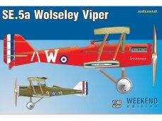 Eduard -   S.E.5a Wolseley Viper, Weekend Edition, 1/48, 8454
