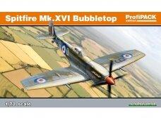 Eduard - Spitfire Mk.XVI Bubbletop, Profipack, Mastelis: 1/72, 70126