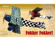 Eduard - Fokker! Limited edition Fokker D.VII, Mastelis: 1/72, 2133