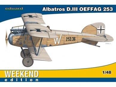 Eduard - Albatros D.III Oeffag 253, Weekend Edition, Mastelis: 1/48, 84152