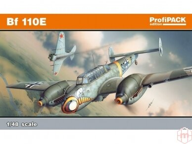 Eduard - Bf-110E, Profipack, Mastelis: 1/48, 8203