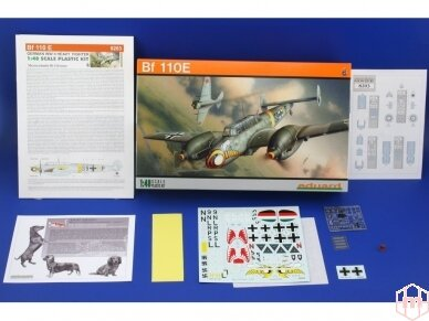 Eduard - Bf-110E, Profipack, Mastelis: 1/48, 8203 2