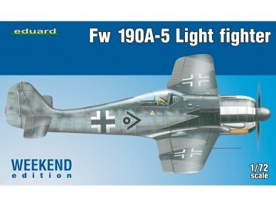 Eduard - Fw 190A-5 Light Fighter(2 cannons), Weekend Edition, Mastelis: 1/72, 7439