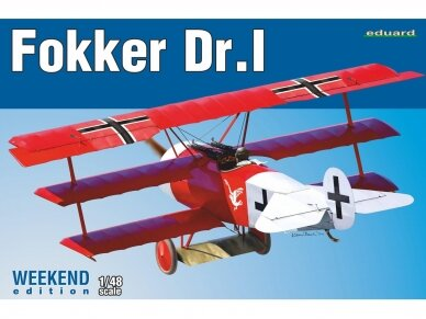 Eduard - Fokker Dr.I , Weekend Edition, Mastelis: 1/48, 8487