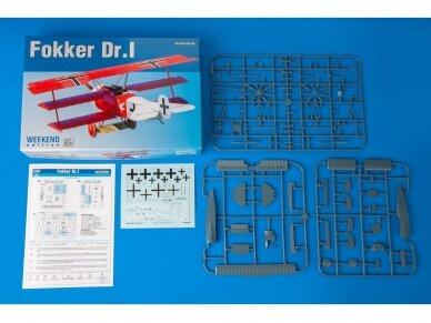 Eduard - Fokker Dr.I , Weekend Edition, Mastelis: 1/48, 8487 2