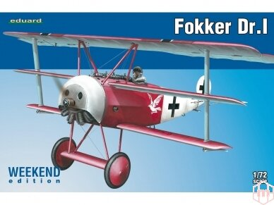 Eduard - Fokker Dr.I, Weekend Edition, Mastelis: 1/72, 7438