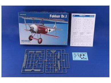 Eduard - Fokker Dr.I, Weekend Edition, Mastelis: 1/72, 7438 2