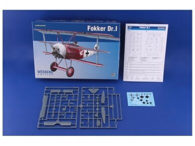 Eduard - Fokker Dr.I, Weekend Edition, Scale: 1/72, 7438 2
