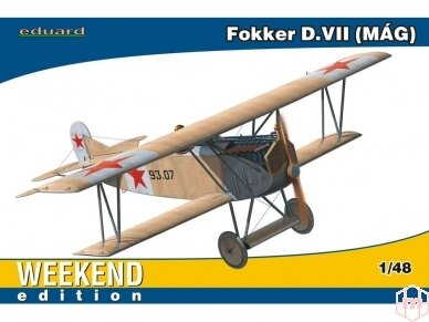 Eduard - Fokker D.VII MAG, Weekend, Mastelis: 1/48, 84156
