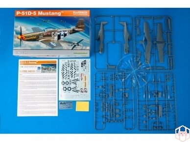 Eduard - P-51D-5 Mustang, Profipack, Mastelis: 1/48, 82101 2