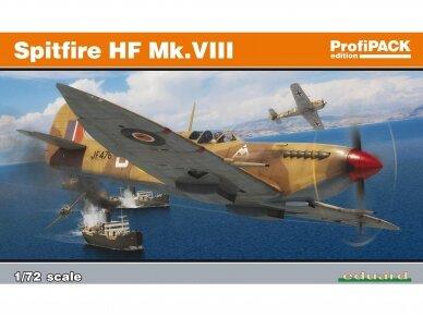 Eduard - Spitfire HF Mk.VIII, Profipack, Mastelis: 1/72, 70129