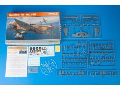 Eduard - Spitfire HF Mk.VIII, Profipack, Mastelis: 1/72, 70129 2