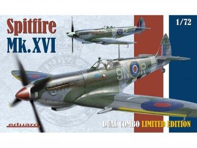 Eduard - Spitfire Mk.XVI Dual Combo, Limited Edition, Scale: 1/72, 2117