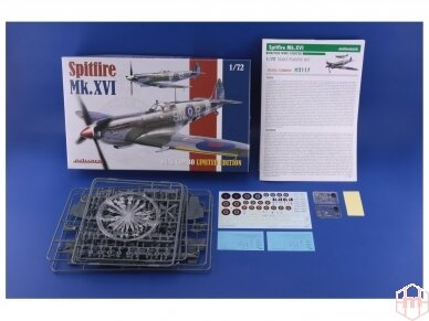 Eduard - Spitfire Mk.XVI Dual Combo, Limited Edition, Scale: 1/72, 2117 2