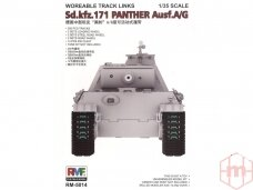 RFM - Workable Track Links For Panther, 1/35, 5014