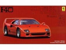 Fujimi - Ferrari F40, Mastelis: 1/24, 12625