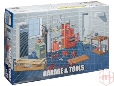 Fujimi - Garage + Tools, Scale: 1/24, 11118