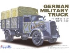 Fujimi - German Military Truck Opel Blitz 3t Camouflaged, Scale: 1/72, 72227