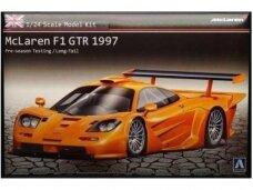 Aoshima - Long-Tail McLaren F1 GTR 1997, Mastelis: 1/24, 00749