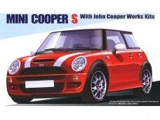 Fujimi - Mini Cooper S with John Cooper Works Kits, 1/24, 12253