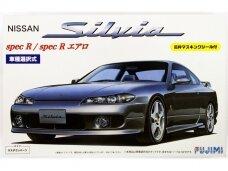Fujimi - Nissan S15 Silvia Spec R/Aero with Window Frame Masking Stickers, 1/24, 03935