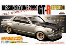 Fujimi - Nissan Skyline 2000 GT-R KPGC10 Full-Works Version, Scale:1/24, 03809