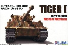 Fujimi - Tiger I Early Version Michael Wittmann, Scale: 1/72, 72269