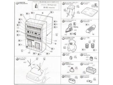 Fujimi - Automobilio priedai, Mastelis: 1/24, 11041 4