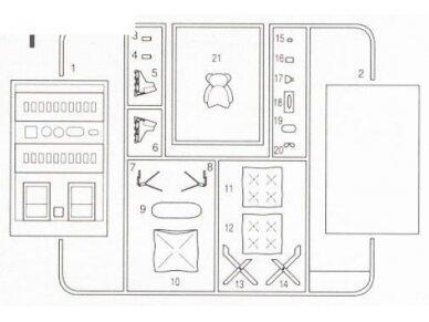 Fujimi - Automobilio priedai, Mastelis: 1/24, 11041 5