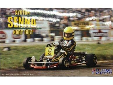 Fujimi - Ayrton Senna Kart 1981, Scale: 1/20, 09137