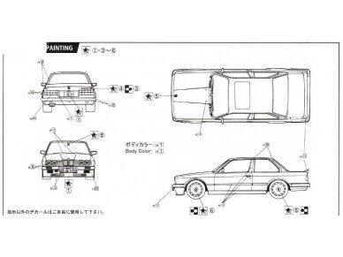 Fujimi - BMW 325i, Mastelis: 1/24, 12610 6