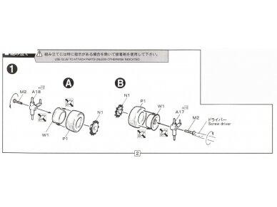Fujimi - BMW 325i, Mastelis: 1/24, 12610 7