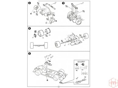 Fujimi - BMW 325i, Mastelis: 1/24, 12610 8