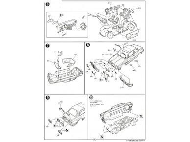 Fujimi - BMW 325i, Mastelis: 1/24, 12610 9
