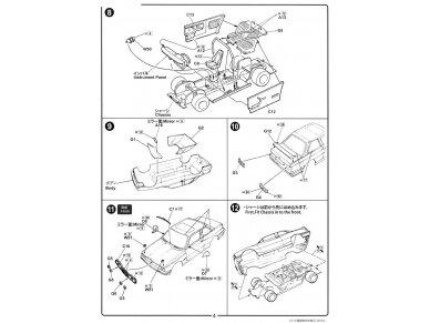 Fujimi - BMW M3 E30, Mastelis: 1/24, 12572 9