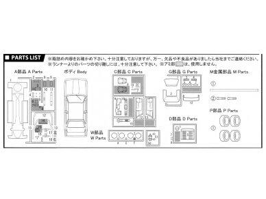 Fujimi - BMW M3 E30, Mastelis: 1/24, 12572 10