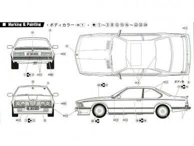 Fujimi - BMW M635Csi, Mastelis: 1/24, 12650 7