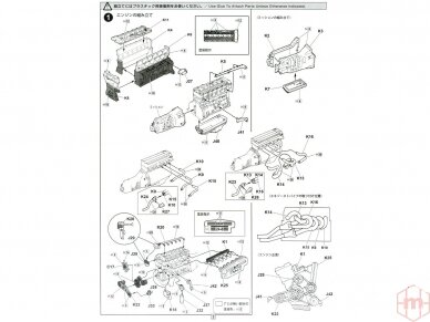 Fujimi - BMW M635Csi, Scale: 1/24, 12650 8